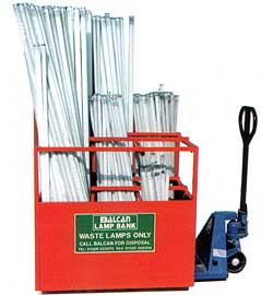 Balcan Lamp Recycling Storage Lamp Recycling Disposal